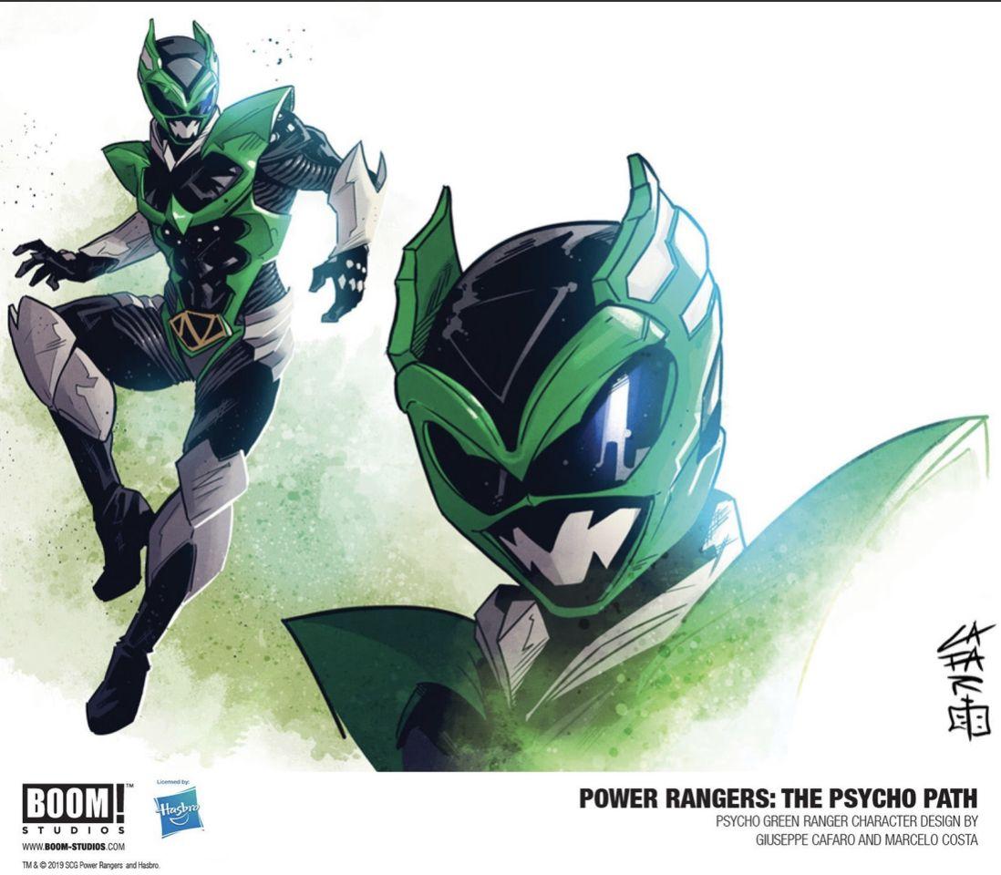 Psycho Green Power Rangers Power Rangers Art Ranger