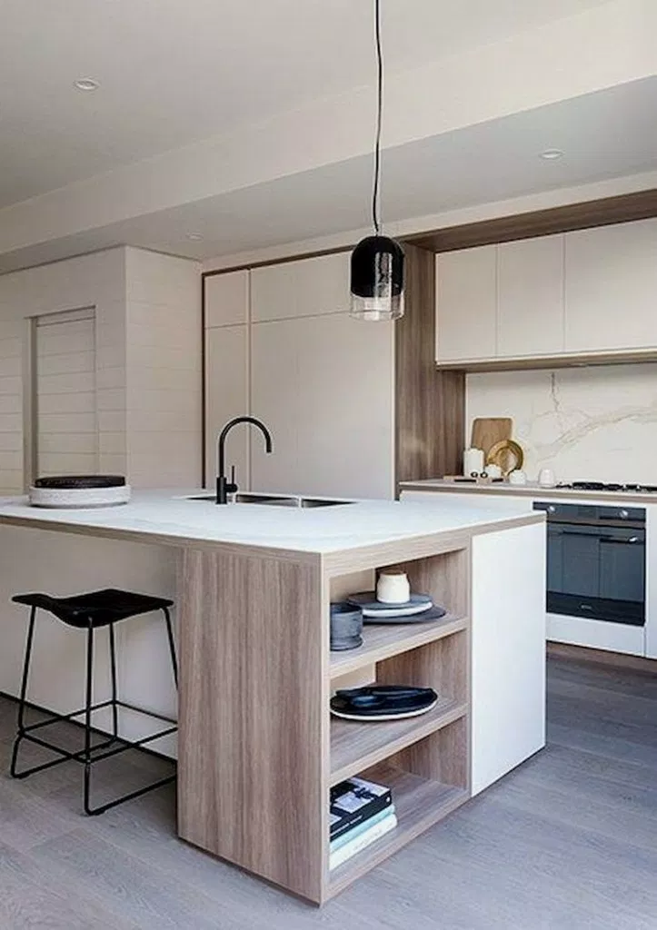 38 Awesome Modern Scandinavian Kitchen Decor Ideas 00014 Scandinavian Kitchen Design Contemporary Kitchen Modern Kitchen Design