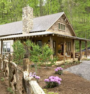 The Whisper Creek Cottage AllisonRamseyArchitects