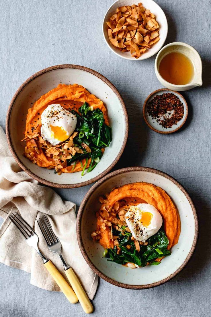 Sweet Potato Breakfast Bowl with Eggs & Greens • The Bojon Gourmet – Home & Women