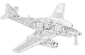 Resultado de imagen de me-262 cockpit