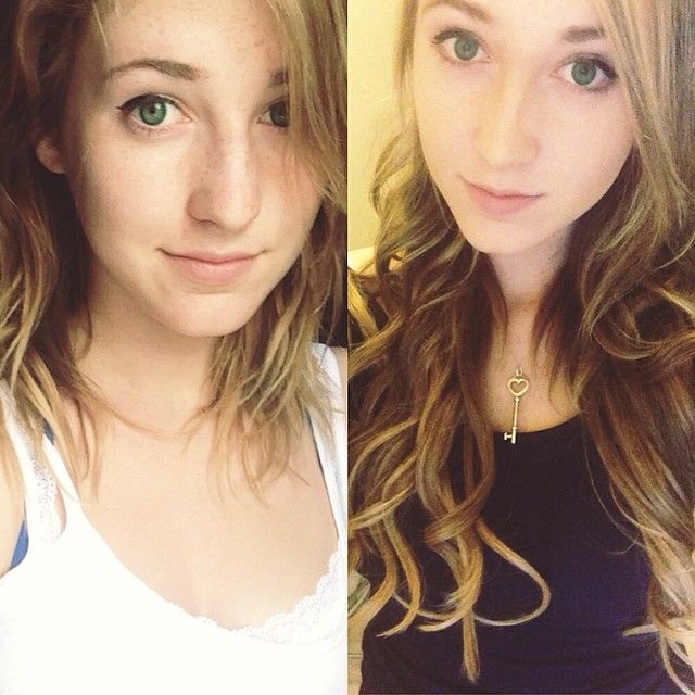 Luxy Hair Extensions Fan Photo Courtesy Of Alphaashlyn Before And