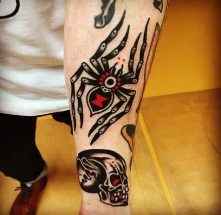 Tattoo traditional neo black old school 55+ new Ideas