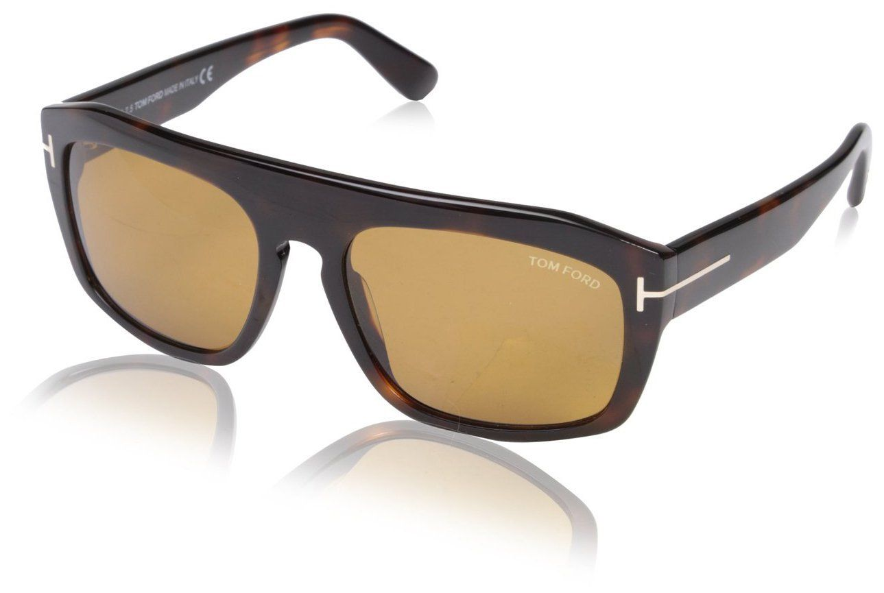 Tom Ford Women's FT0470-56E Designer Sunglasses, Havana. Style # TF 470.