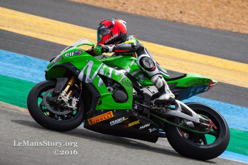 Kawasaki Racing Team France Le Mans 24h Moto 2016 24h Motos Le