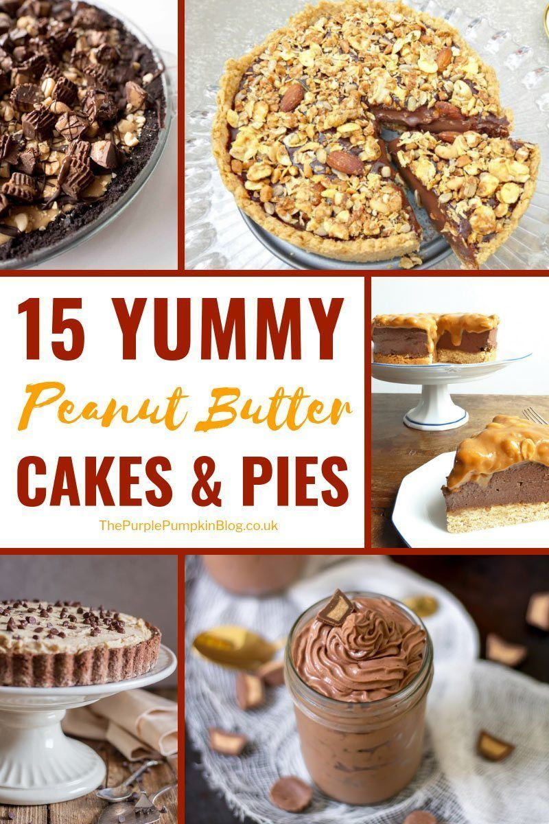 15 Yummy Peanut Butter Cakes amp Pies - Easy Recipes 15 Yummy Peanut Butter Cakes amp Pies -
