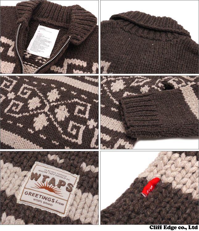 116f01c9656 WTAPS COWICHAN   SWEATER. WOOL (details)