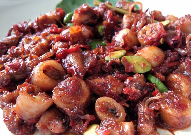 Resep Sambal Goreng Cumi Pete Oleh Rizki Astuti Resep Makanan Dan Minuman Resep Makanan Resep Masakan Indonesia