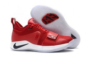 fd88e9f55dd91f Online Nike Paul George PG 2. 5 Red White Black Men s Basketball Shoes Male  Sneakers