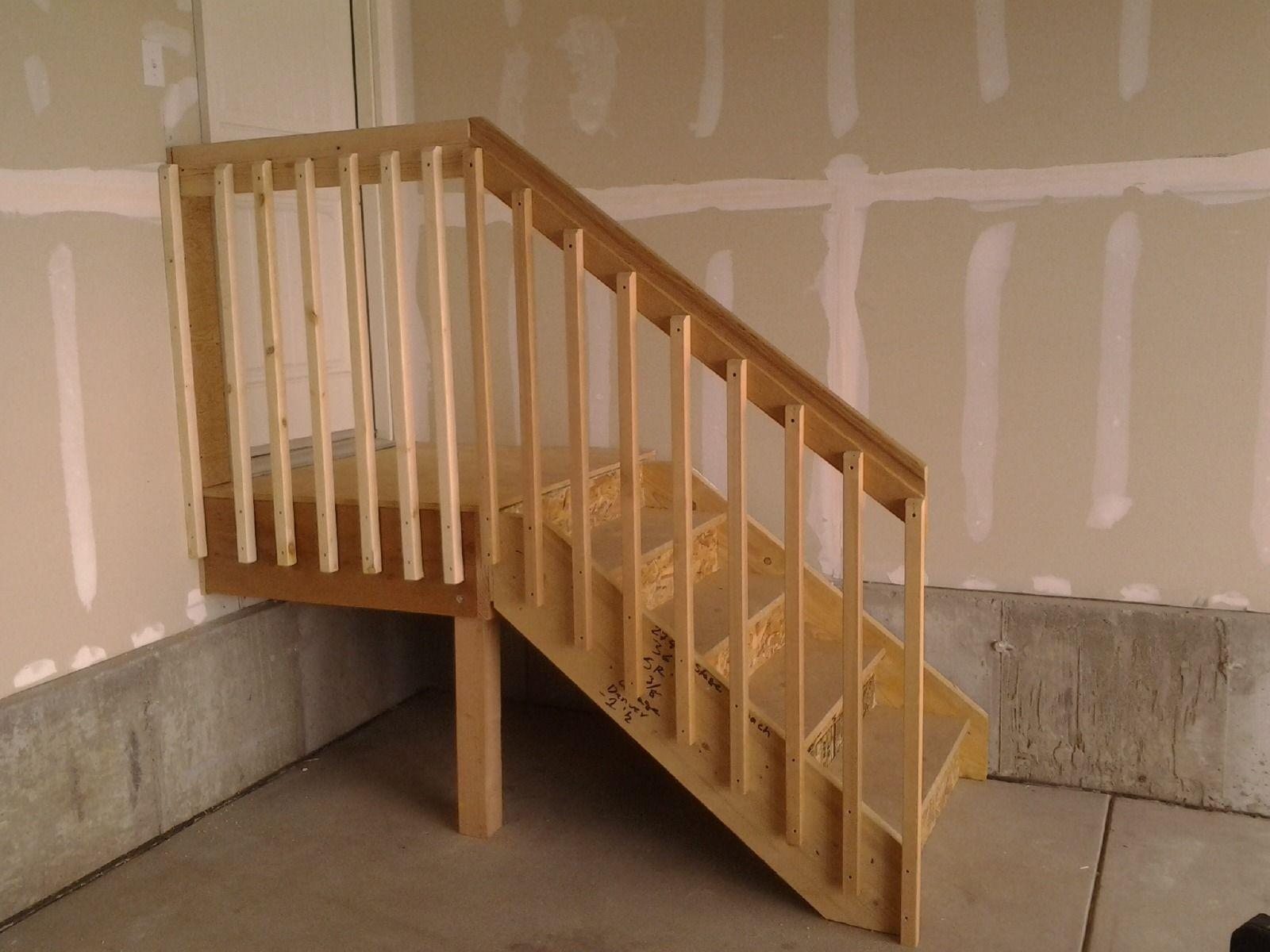 garage+stairs+with+landing Longmont insulation Loews