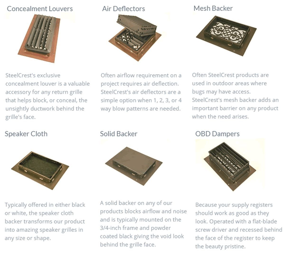 8 X 30 STEEL DESIGN REGISTERS AND RETURNS Vent Covers
