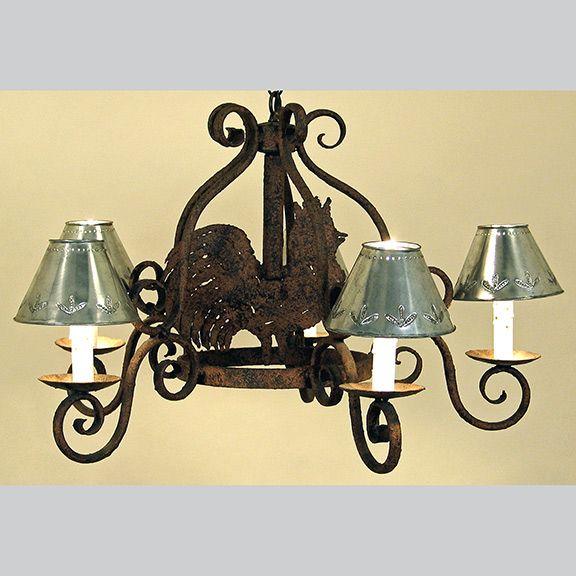 Rooster Kitchen Light Fixture