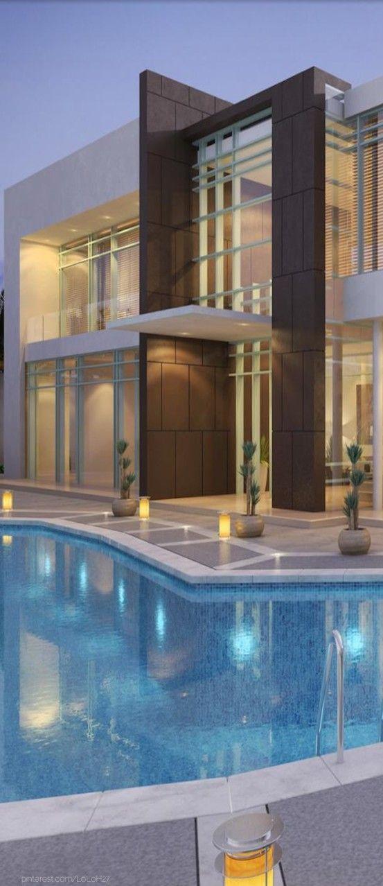 Villa Al Manara Modern Architecture Design Architecture Modern