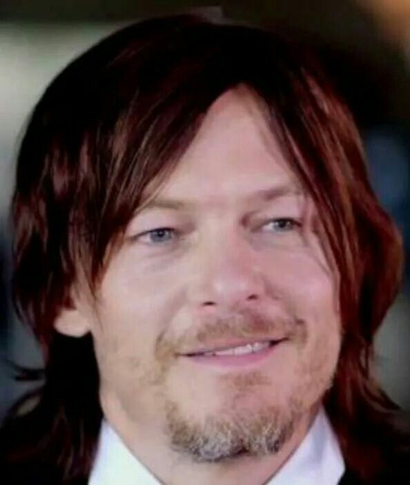 The beautiful way his eyes twinkle while he smiles, his hair dances around his face and his flawles skin gets lightened up whenever the sun touches him. I love the verry sound of this mans voice, the verry look of his beautiful body. Norman Mark Reedus, the living embodiment of perfection. ❤