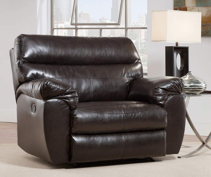 Simmons Lucky Espresso Cuddler Recliner Recliner Furniture