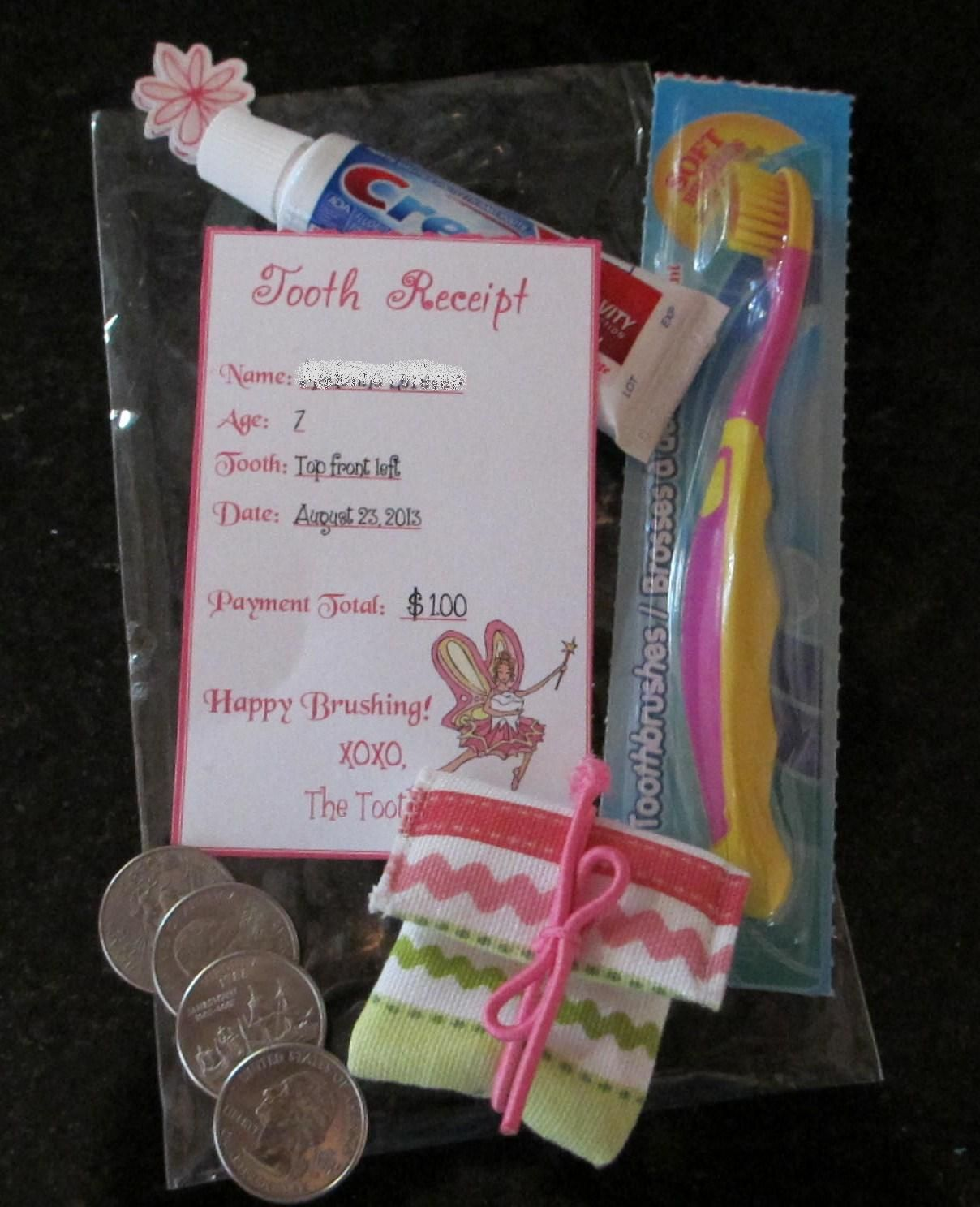 tooth fairy visits! cute idea for first tooth … | babies | pinte…