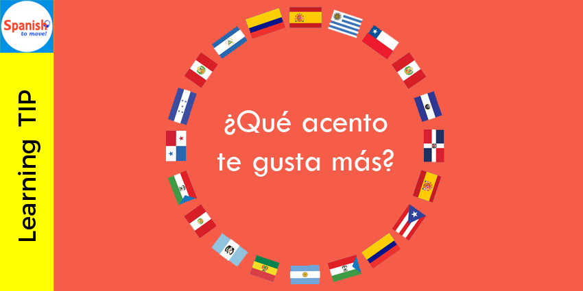 Learning Tip Choose An Accent You Like And Imitate It Learning Spanish Learning Tips