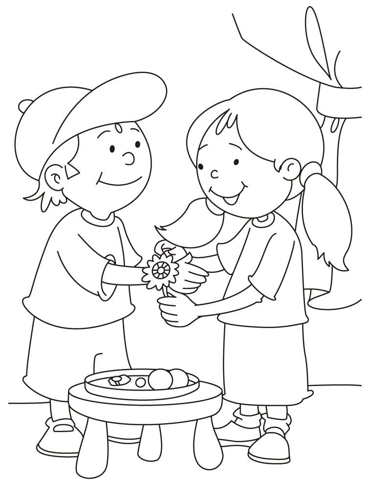 coloring pages of diwali scenes - photo#22