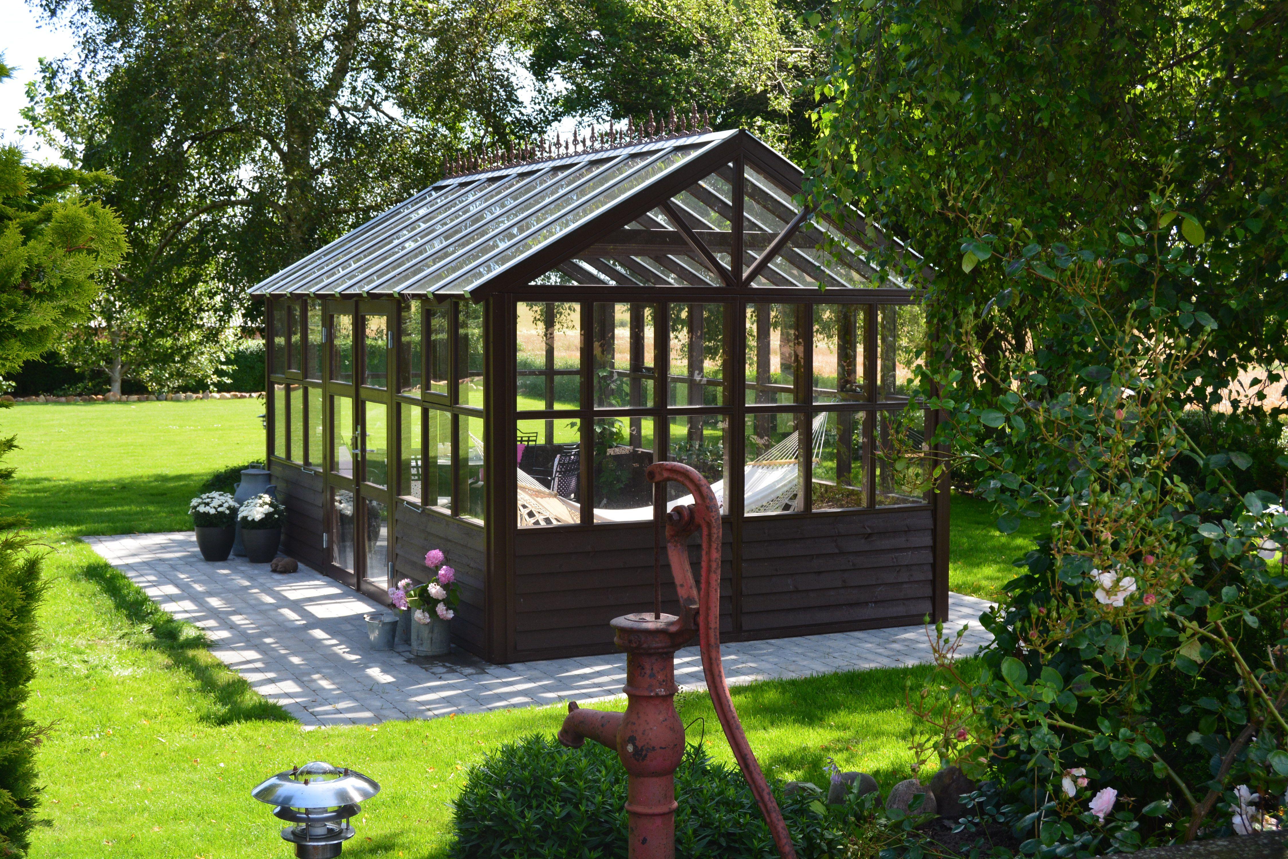 Usædvanlig Orangeri i træ | Flotte drivhuse og orangerier til planter | Køb JR12