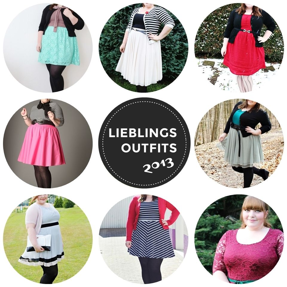 Meine Lieblingsoutfits 2013 // Favourite outfits of the year.