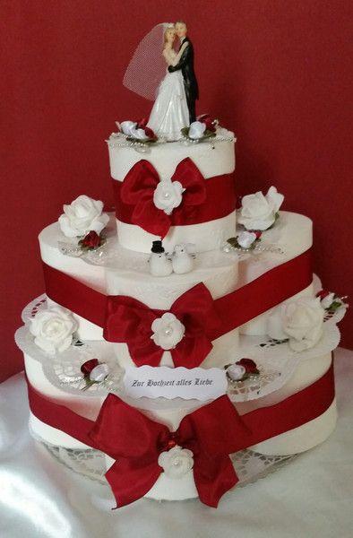 Hochzeitstorte Klopapier