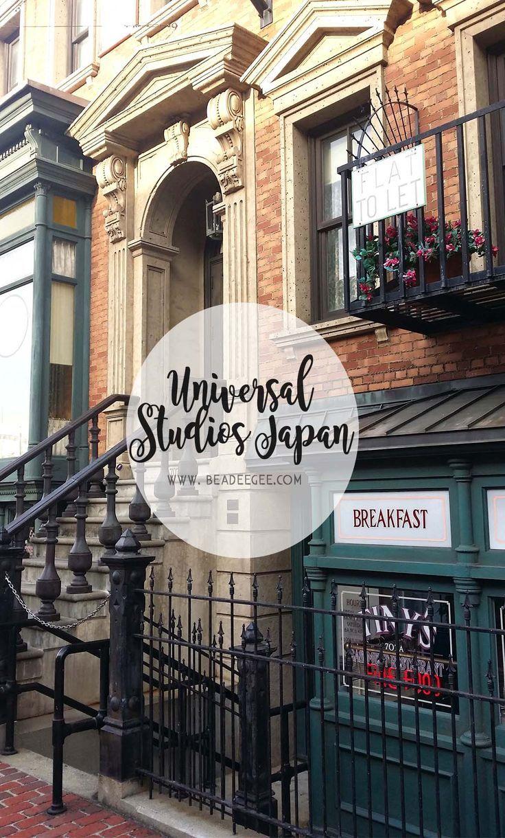Garden Centre: Japan: A Guide To Universal Studios Japan