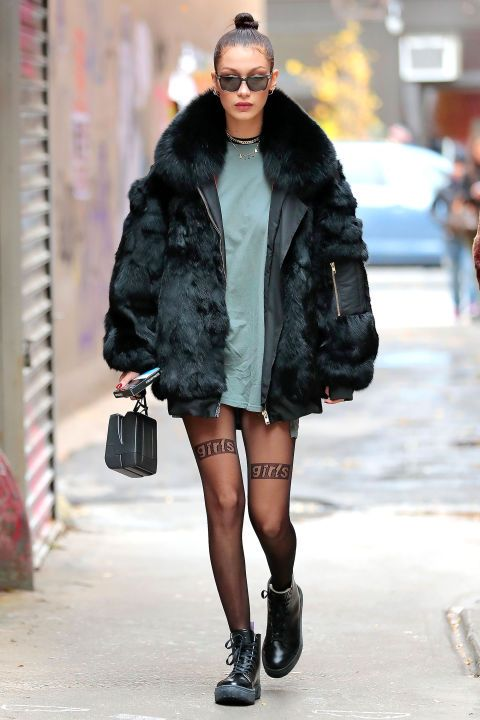 0915382e8d33 Bella Hadid Rocked a 90 s-Inspired Trend in the Most Surprising Way ...