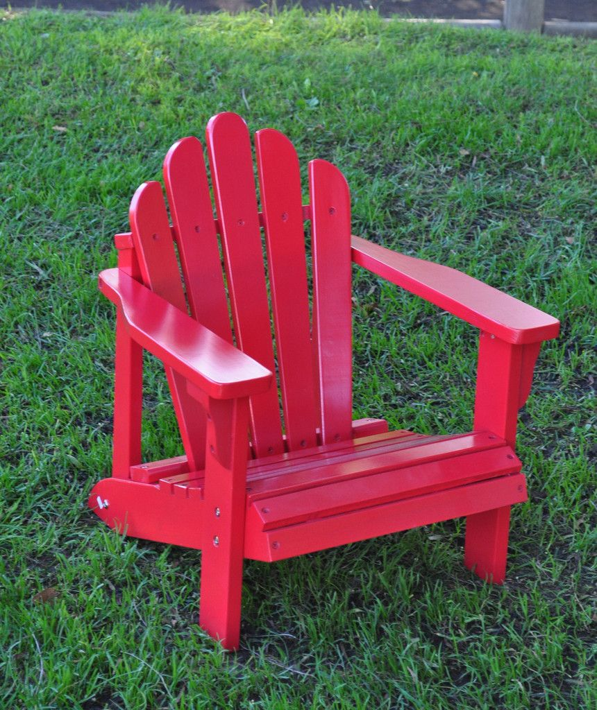 Stupendous Westport Kids Adirondack Chair Tomato Red Shine Company Andrewgaddart Wooden Chair Designs For Living Room Andrewgaddartcom