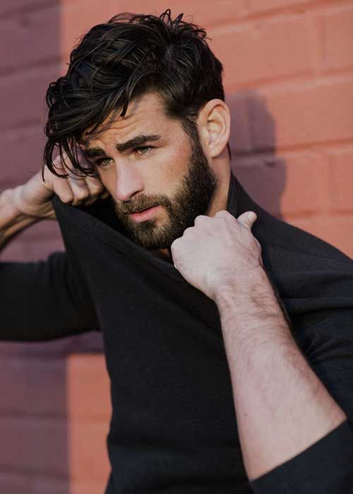 Men Cool Dark Hair 2015 Hairstyles Pinterest Hair