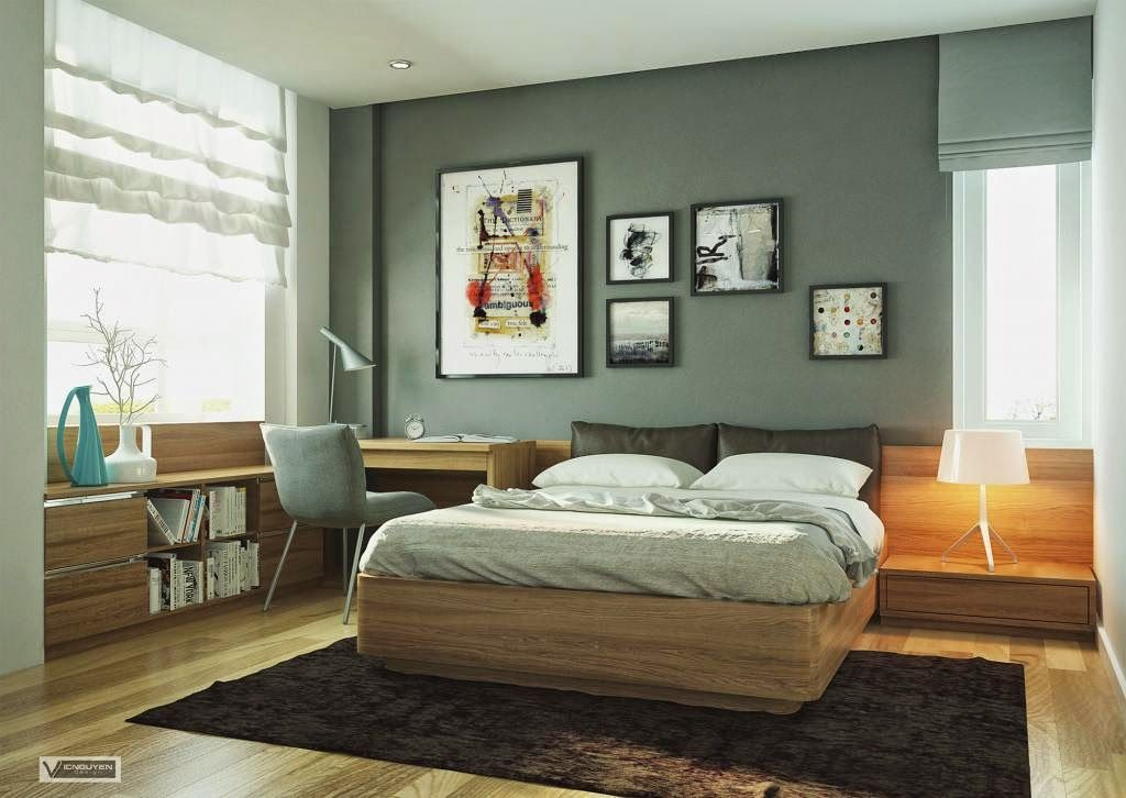 Foundation Dezin & Decor...: Master Bedroom With Study Section ...