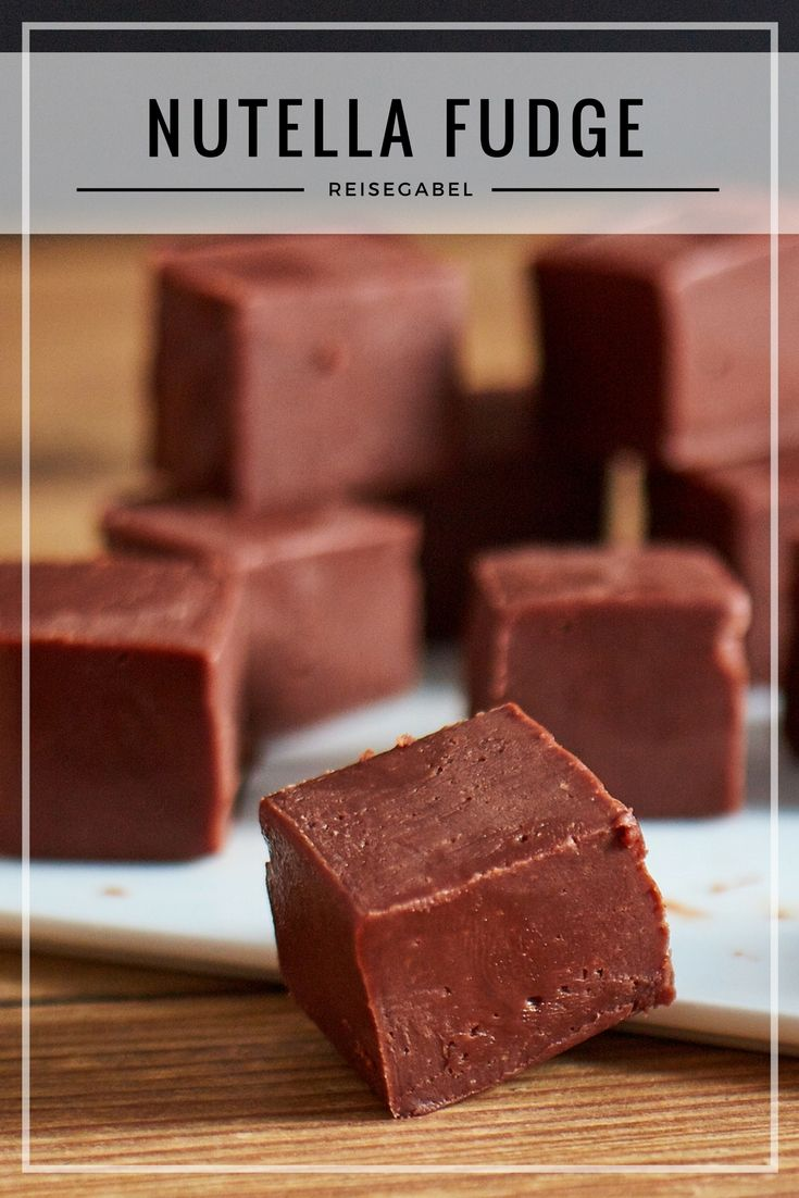 Nutella Fudge #marshmallows