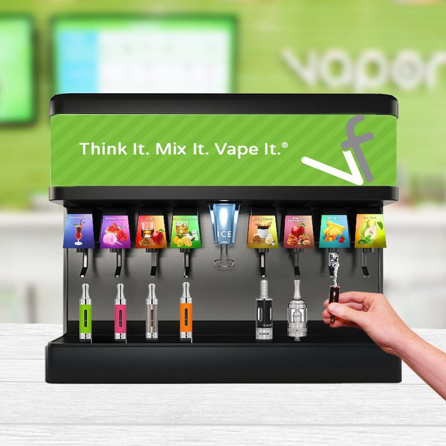 Picking an e-liquid flavor at VaporFi is a little like picking your soda flavor. Yeah, 1 tasty flavor always works, but amazing things happen when you combine more than 1. You can customize and create up to 30,000 flavor combinations when you use our custom blender at www.vaporfi.com!  #vapelife #vapefam #eliquid #ejuice #vapejuice