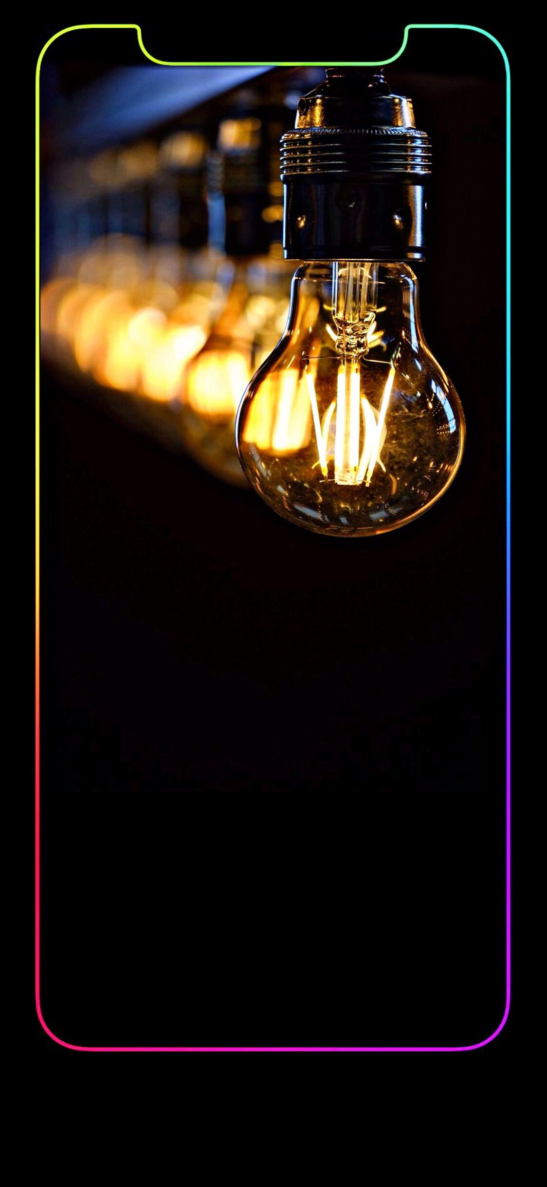 iPhoneX LightBulb iphonexwallpapers   Apple wallpaper iphone ...