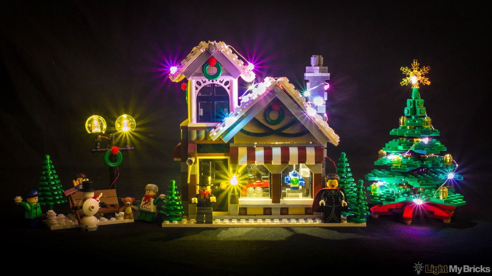 Light My Bricks Led Kit For Lego Winter Toy Shop Set 10249 Exclusive Christmas