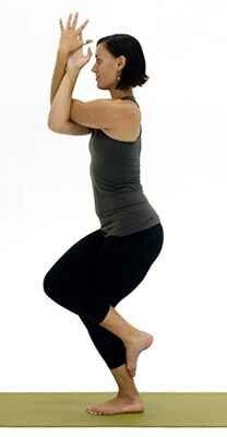 eagle pose  yoga balance poses standing yoga poses