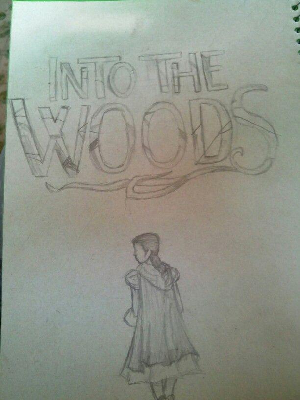 """Este es mi dibujo de la pelicula """"En El Bosque"""" espero que les haya gustado"""