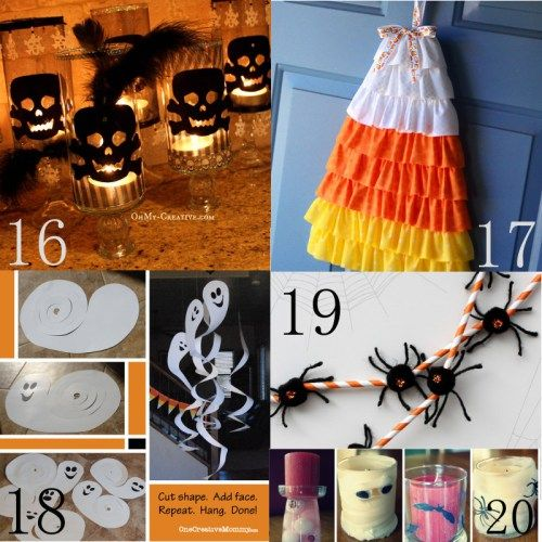 25 Cheap Halloween Decorations DIY Halloween, Decoration and Cheap - cheap easy diy halloween decorations