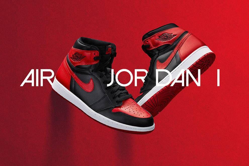 Banned Air High Shoes Og Jordan 1 Retro PXqwU6X