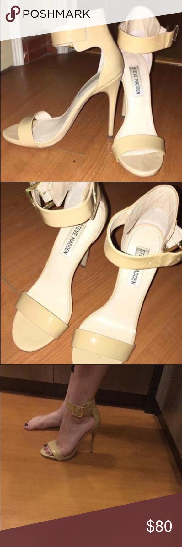 Steven madden marleene open toe sandal heels size6 Steve Madden marleene open toe sandals heels size 6! Worn for an hour ! Bought for 100 selling for 80!! Steve Madden Shoes Heels