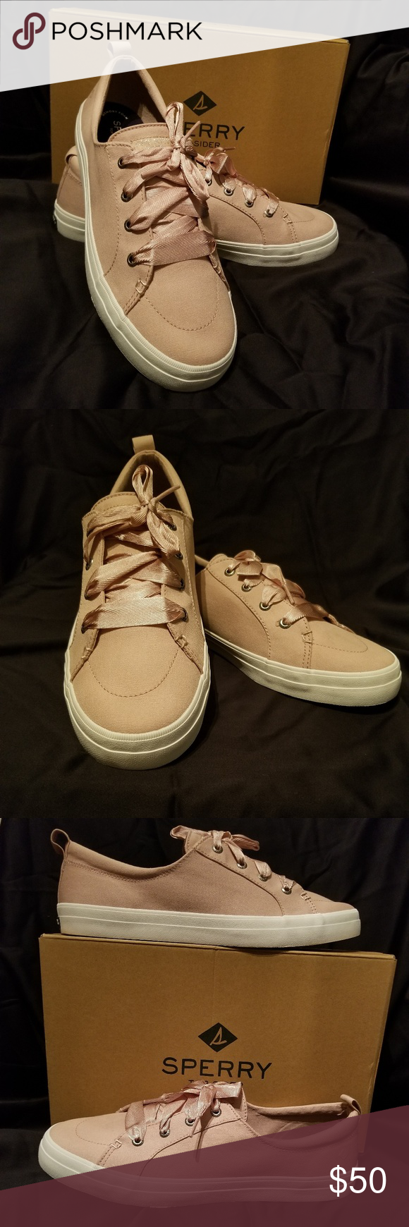 50% off vast selection performance sportswear Spotted while shopping on Poshmark: Sperry Crest Vibe Satin ...