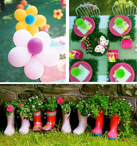 kids garden party - Google Search | birthday ideas | Pinterest ...