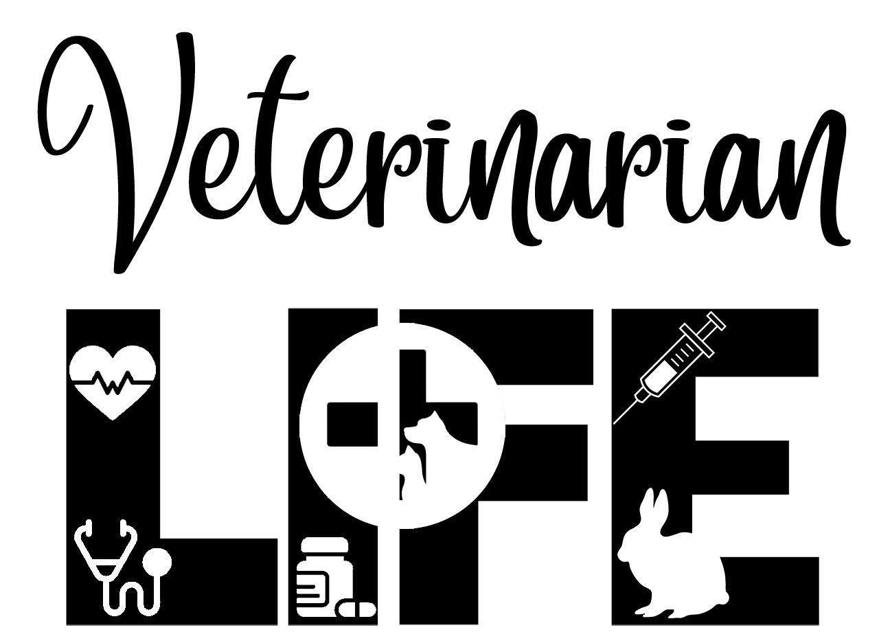 Free Veterinarian Life SVG File in 2020 Veterinarian