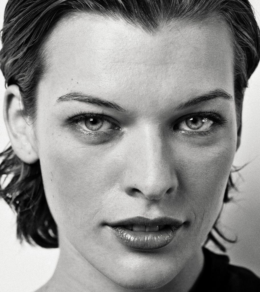 milla ll | Milla jovovich, Portrait, Celebrity portraits
