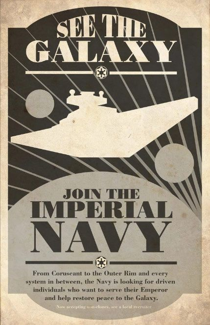 Star Wars Recruitment Posters By Steve Squall A Galaxy Far Far