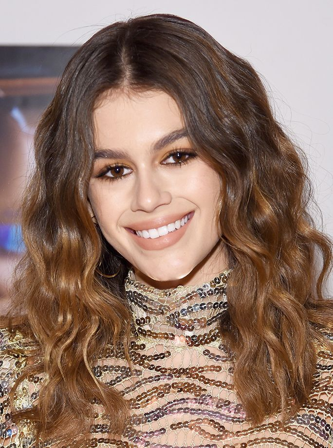 447c106d64a86 7 Celebrity Nude Eyeshadow Looks to Try ASAP - Kaia Gerber from InStyle.com