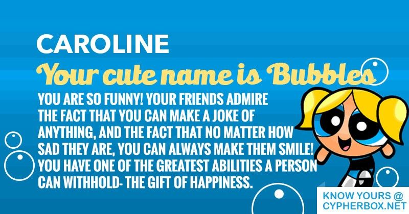 Find out what is your cute name! | Cypher Box