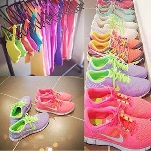 Work out clothes &' shoes