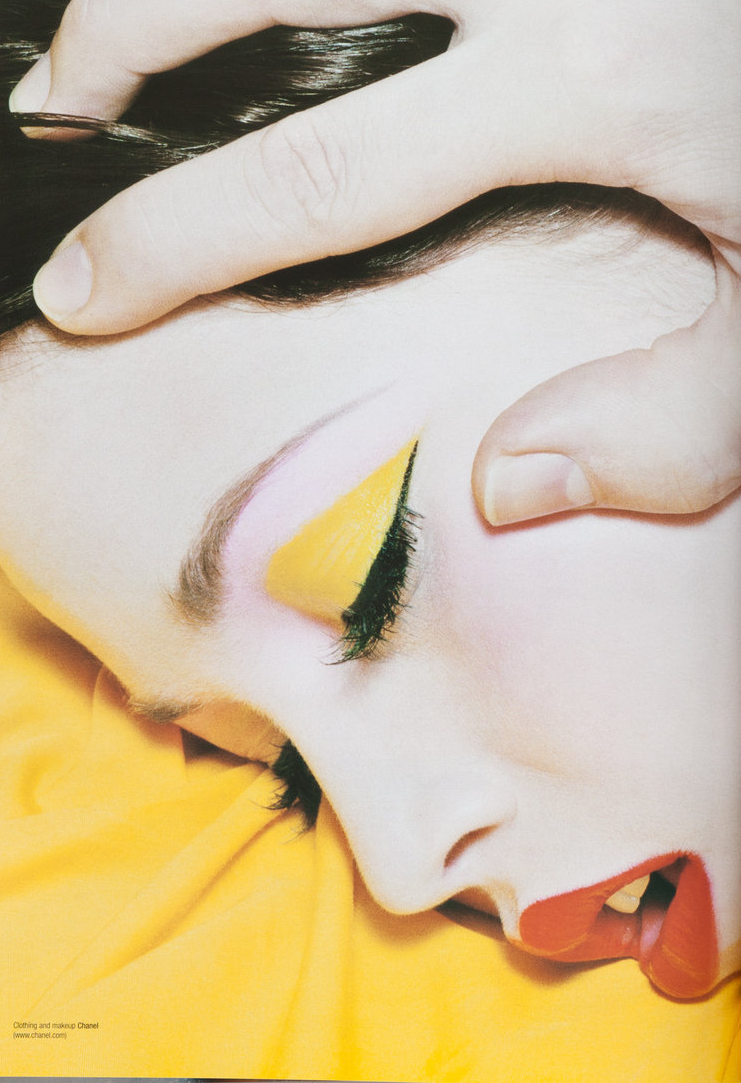 V Magazine March/April 2002 by Miles Aldridge.