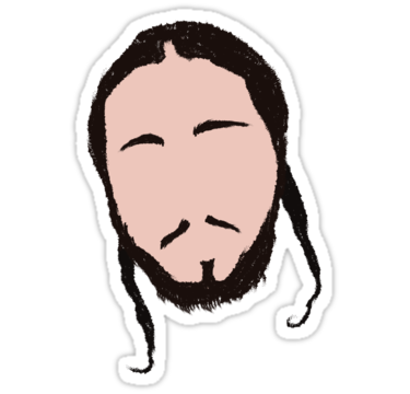 Post malone stickers by tim schools redbubble