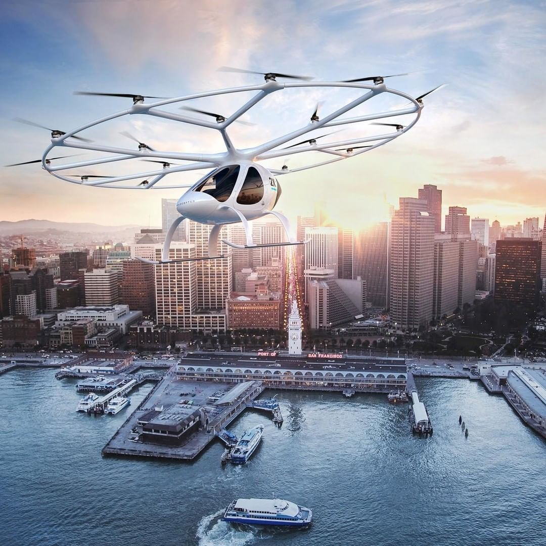"""The Economist on Instagram """"Flying taxis are about to"""